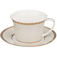 Чайный набор из фарфора на 6 персон 760-389