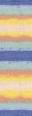 6539  (синий, голубой, мята,абрикос,лимон,экрю)