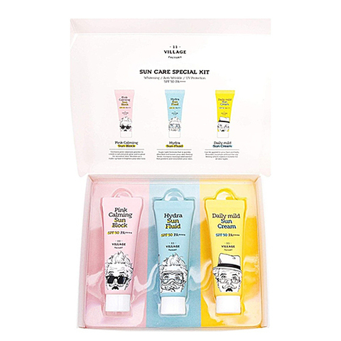 VILLAGE 11 FACTORY Sun Care Special Kit SPF 50+ PA++++