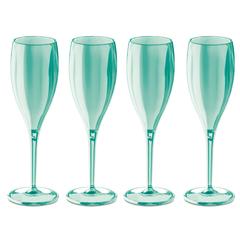 Набор бокалов для шампанского 4 шт Superglas CHEERS NO. 1, 100 мл, мятный, фото 1