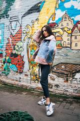 Утепленная джинсовая куртка с мехом магазин