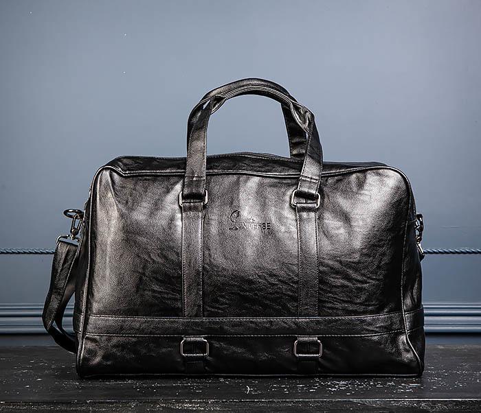 BAG549 Большая дорожная сумка из кожи фото 05