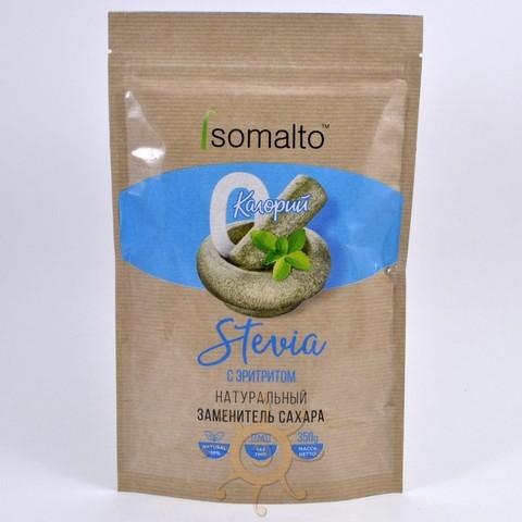 Сахарозаменитель стевия с эритритом (сладость 2) Isomalto, 350г