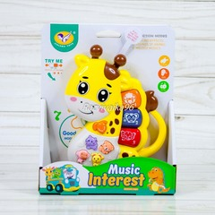 Музыкальная игрушка-пианино Жирафик