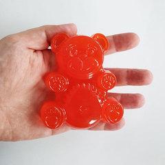 Желейный медведь Fun Bear 10 светится в темноте