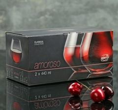 Набор из 2 стаканов для виски «Аморосо», 440 мл, фото 2