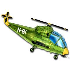 F Мини-фигура, Вертолет (зеленый), 14