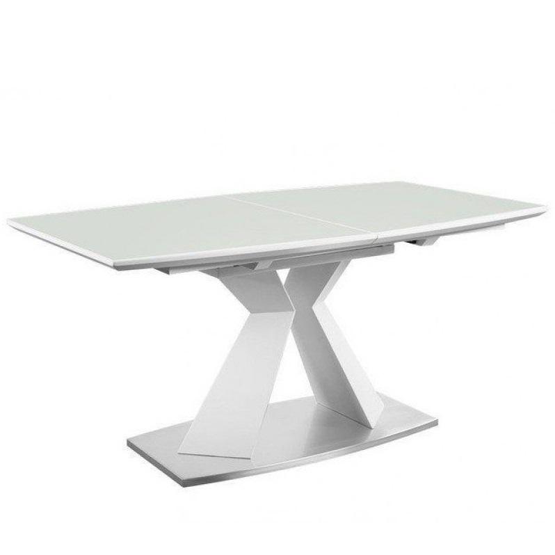 Стол обеденный AVANTI FLEX (160) MATT WHITE (белый)
