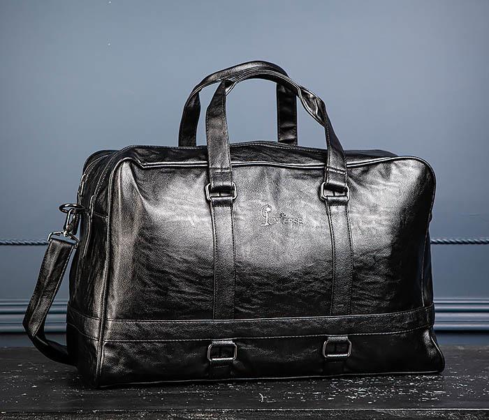 BAG549 Большая дорожная сумка из кожи фото 06