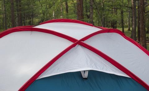 Шатер Canadian Camper SPACE ONE, цвет royal, соединение дуг.