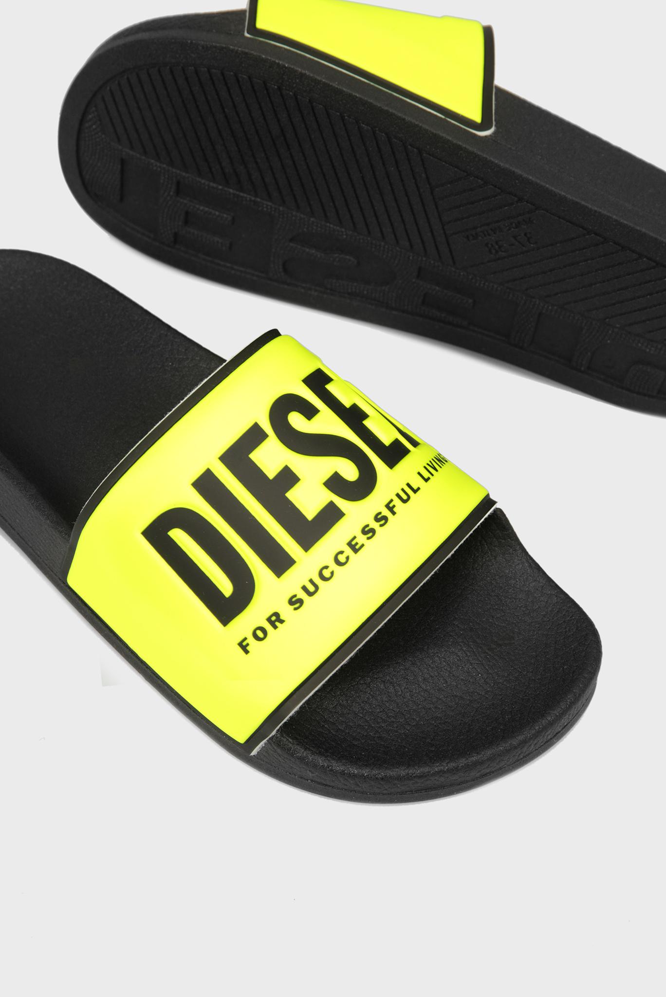 Мужские желтые слайдеры VALLA Diesel
