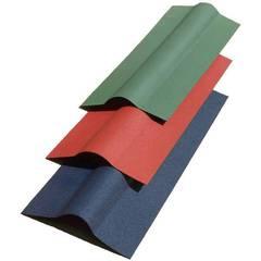 Ондулин Коньковый элемент 1000мм зеленый