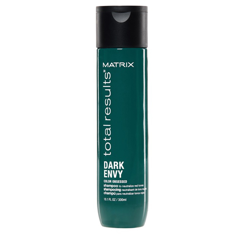 Matrix Total Results Dark Envy: Шампунь для нейтрализации красных оттенков (Dark Envy Shampoo), 300мл