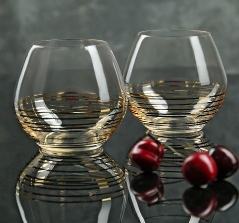 Набор из 2 стаканов для виски «Аморосо», 440 мл