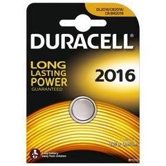 Батарейки Duracell CR 2016, 3V (2/10) BL