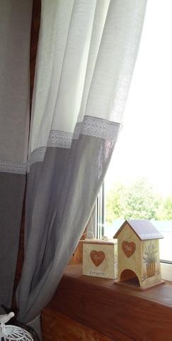 Готовая штора Онри  100% лен