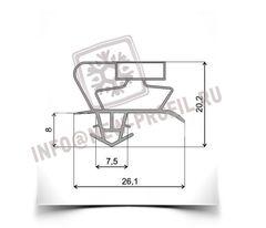Уплотнитель 69*57 см для холодильника Снайге (морозильная камера) Профиль 017 АНАЛОГ