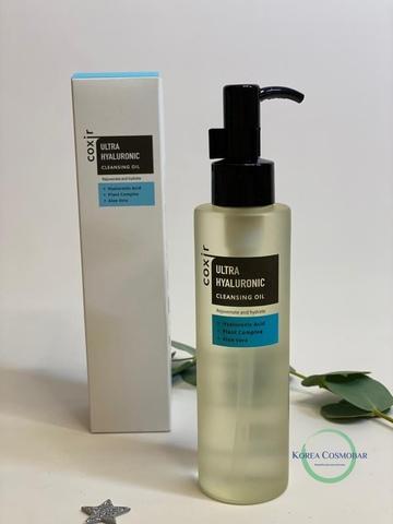 Coxir Масло гидрофильное очищающее с гиалуроновой кислотой - Ultra hyaluronic cleansing oil, 150мл