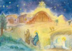 Адвентский календарь Галины Алексашиной (30х40см)