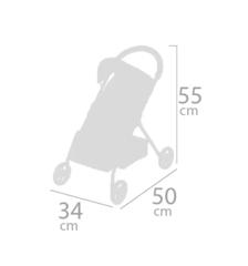 DeCuevas Прогулочная коляска для куклы, серия Диди, 55 см. (90543)