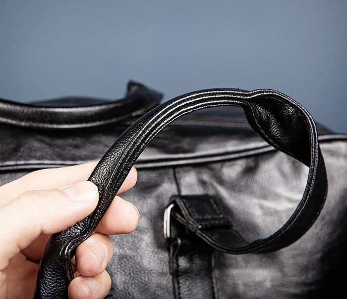 BAG549 Большая дорожная сумка из кожи фото 08