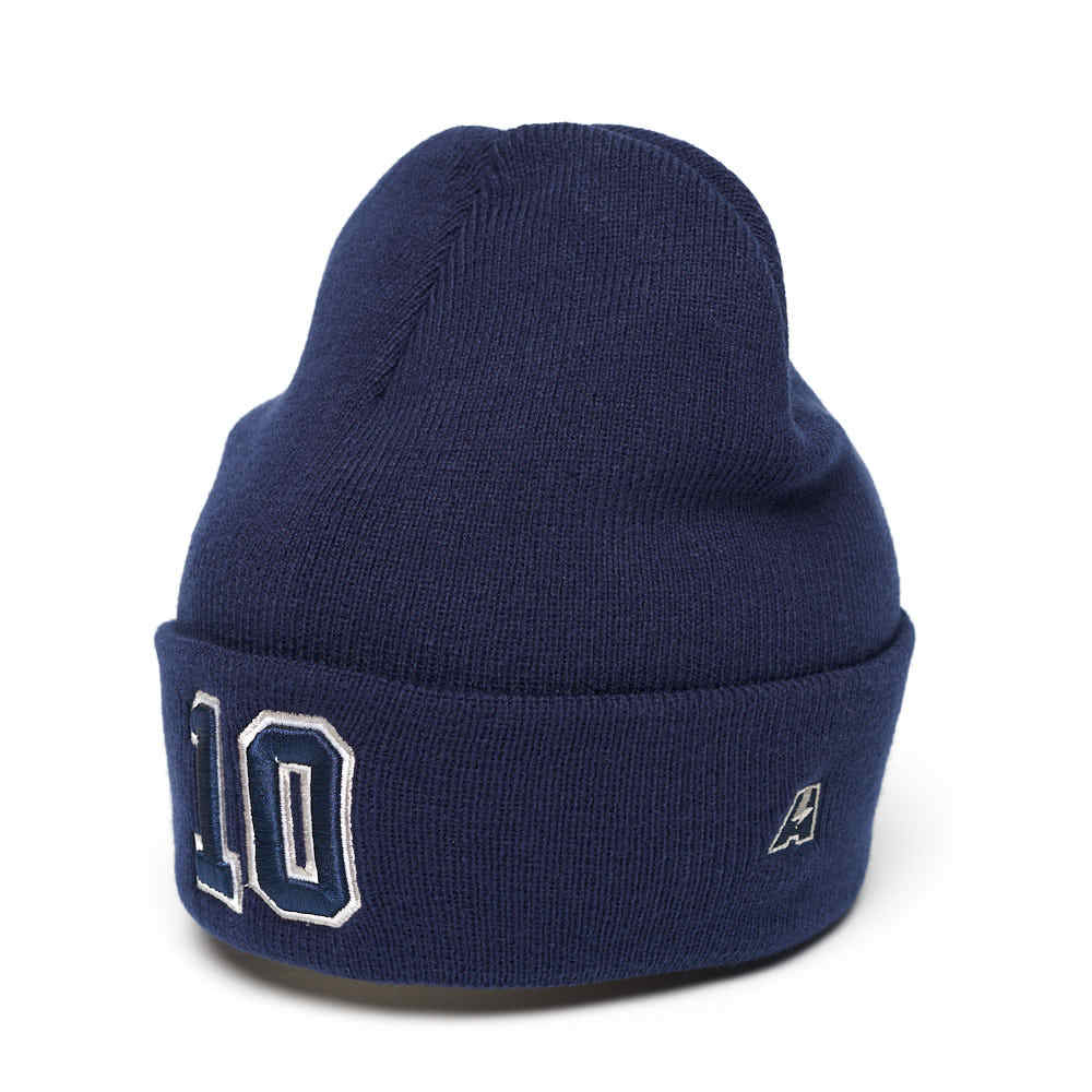 Шапка №10 синяя