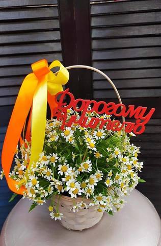 Цветы в корзинке  #78604