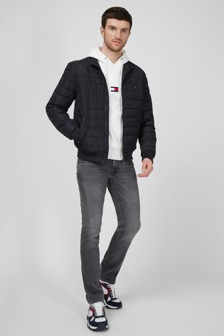 Мужская черная куртка Tommy Hilfiger