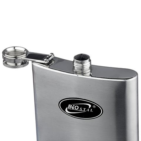 Фляга Biostal (0,27 литра), стальная