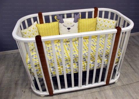 NUT Кроватка детская Incanto Nuvola Lux 5 в 1