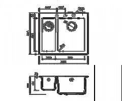 Схема Omoikiri Bosen 59-2-BL
