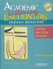 Academic Encounters: Human Behavior - Listening...