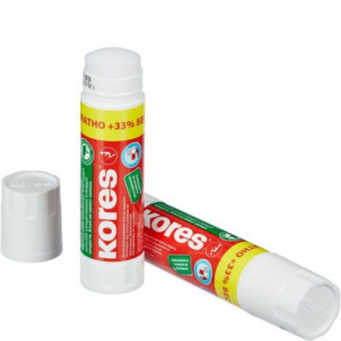Клей-карандаш 15г KORES +33% Free
