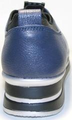 Кроссовки на высокой подошве без шнурков