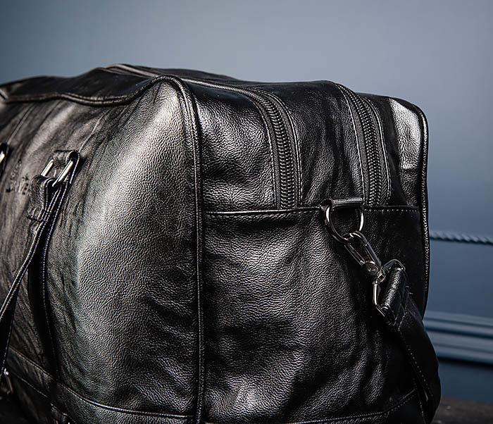 BAG549 Большая дорожная сумка из кожи фото 09