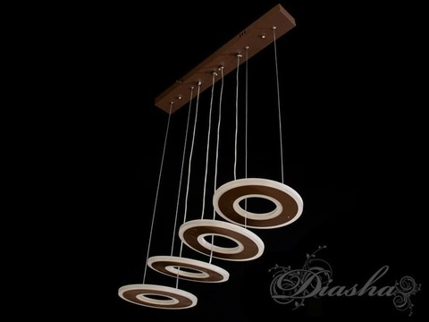 Современная светодиодная Подвесная LED Люстра 45W