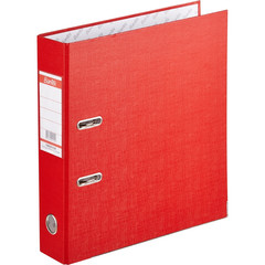 Папка-регистратор Bantex Economy Plus 80 мм красная