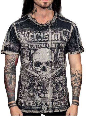 Футболка Wornstar BLOOD SWEAT AND SHEARS TEE