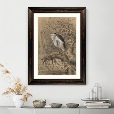 Йоханнес Герард Кёлеманс - Птица у озера, 1890г