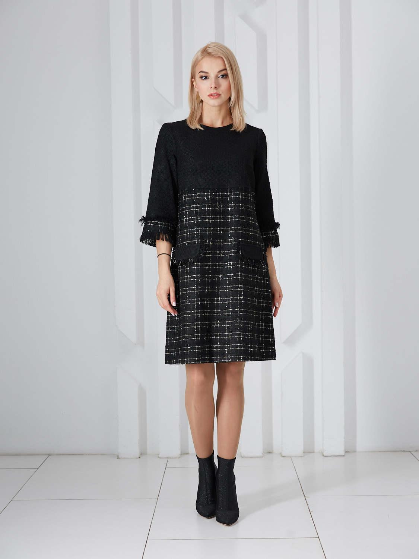 Платье plt-51759f/черный