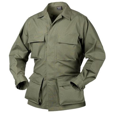 Рубашка полевая Helikon BDU PolyCotton RipStop, olive green