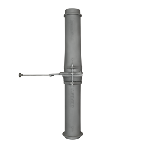 Чугунный шиберный модуль 150/1000