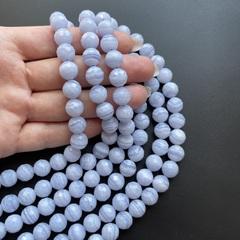 Бусины сапфирин AA шар граненый 10 мм