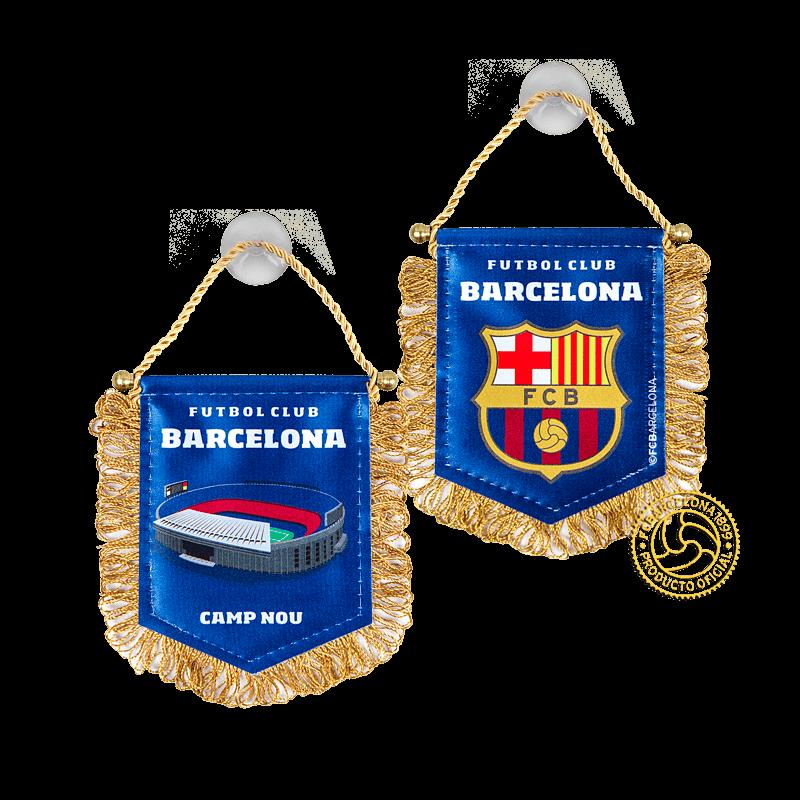 Вымпел Барселона малый на присоске