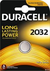 Батарейки Duracell CR 2032, 3V (1/10) BL