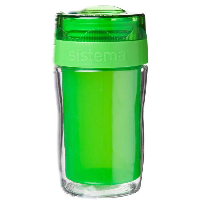 Термокружка Sistema 315 мл, цвет Зеленый