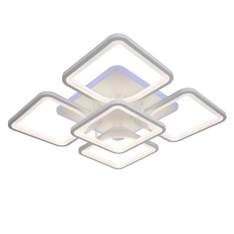 Потолочная светодиодная люстра NL-6604/4L+1 WT+RGB