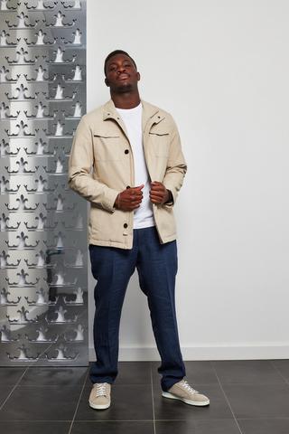 DIGEL Куртка хлопковая с накладными карманами