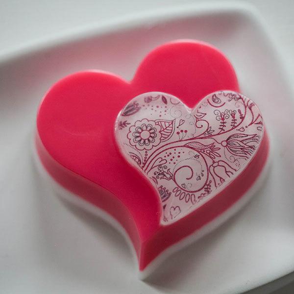 Мыло Романтика. Пластиковая форма