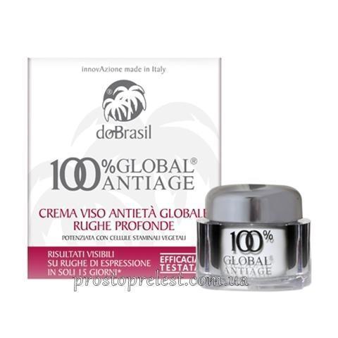 Dobrasil crema viso antieta' globale rughe profonde - Крем от морщин 100% global® antiage